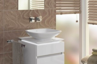Surface-mounted washbasin rectangular Loop & Friends  by  Villeroy&Boch Bath&Wellness