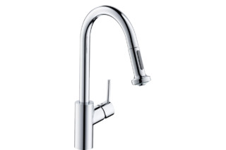 M52 M5216-H220 single lever kitchen mixer 220 with pull-out spray  by  Hansgrohe