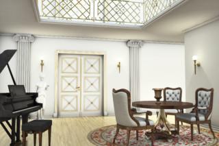 Füllungstüren in mediterranem Design  von  ComTür
