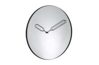 MIRROR CLOCK  by  ligne roset