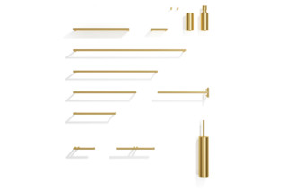 MIKADO brass  by  Decor Walther