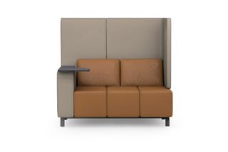 MLQ max Sofa mit Schreibtablett  von  modul 21