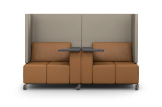 MLQ max sofa with writing pads  by  modul 21