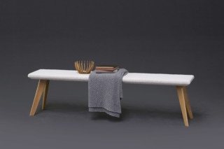 Woody bench  by  Möller Design