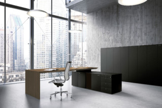 Multipliceo working desk system  by  Fantoni