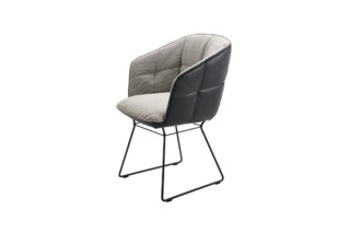 Marla armchair high with wire frame  by  Freifrau