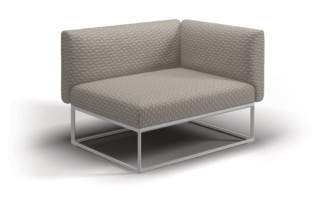 Maya Rechtes End Modul  von  Gloster Furniture