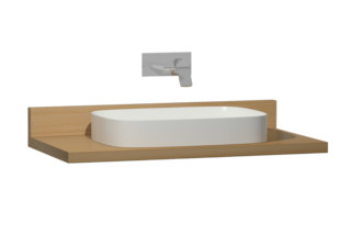 Memoria console board  by  VitrA Bathroom