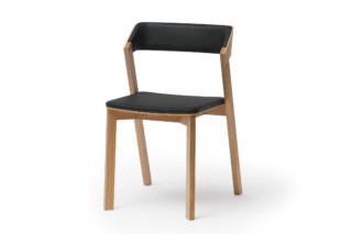 Merano chair upholstered  by  TON