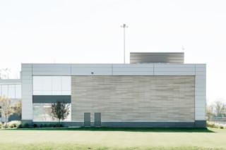 öko skin, Messer Constructions Headquarter  von  Rieder