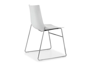 Nava skid-frame chair  by  Girsberger