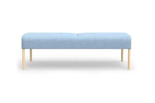 Nooa bench  by  Martela