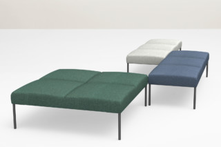 Noora bench  by  Martela