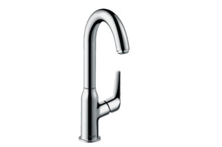 Novus single-lever basin mixer 240 with swivel spout and pop-up waste  by  Hansgrohe