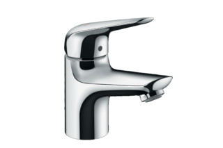 Novus single-lever basin mixer 70 CoolStart with push-open pop-up waste  by  Hansgrohe