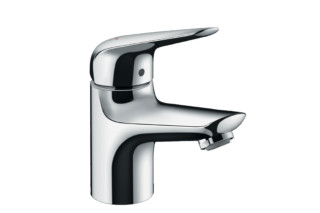 Novus single-lever basin mixer 70 LowFlow with push-open pop-up waste  by  Hansgrohe