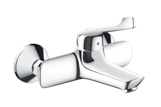 Novus Single lever basin mixer for exposed installation with extra long handle  by  Hansgrohe