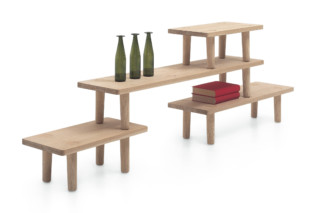 OAK TABLE MODULE  by  Cappellini