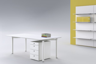 Mèta working table system  by  Fantoni
