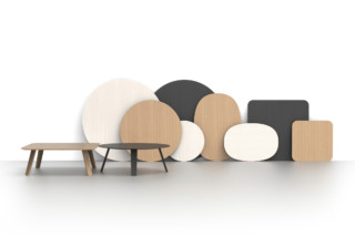 Oona coffee table  by  Martela