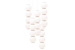 Pearls Chandelier 5 Lüster  von  Formagenda