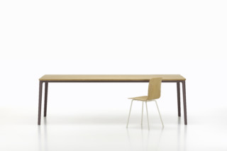Plate dining table  by  Vitra