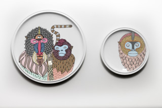 Primates Plates  by  Bosa