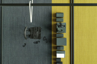 Pulse 800 carpet tile  by  OBJECT CARPET