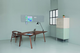 Rail writing desk  by  Zeitraum