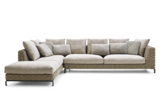 RAY OUTDOOR NATURAL corner sofa  by  B&B Italia