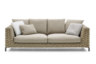 RAY OUTDOOR NATURAL 2-seater  by  B&B Italia