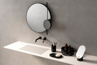 Revolving Moon mirror  by  agape