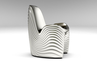 River chair  by  Tonon