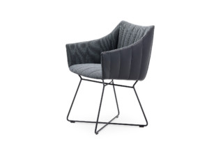 Rubie armchair with wire frame  by  Freifrau