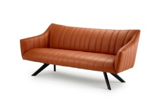 Rubie Lounge Couch with wooden frame  by  Freifrau