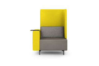 SLE smartE armchair with tray table  by  modul 21