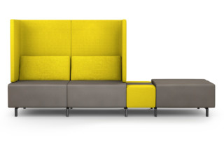 SLE smartE sofa with tray table  by  modul 21