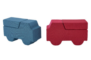 SOFTRUCKS stool  by  ligne roset