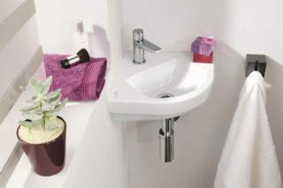 Corner handwashbasin Subway 2.0  by  Villeroy&Boch Bath&Wellness