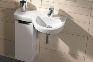 Washbasin Subway 2.0 41166R  by  Villeroy&Boch Bath&Wellness