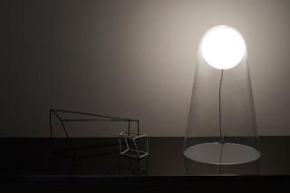 Satellight table lamp  by  Foscarini