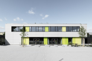 concrete skin, All-day school Germering  by  Rieder