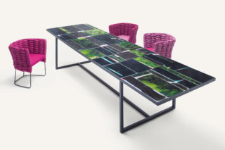 Sciara outdoor table  by  Paola Lenti