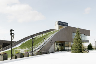 oko skin, Titletown Sledding Pavilion by Rieder