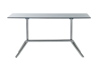 Smart Series folding table double foot  by  solpuri