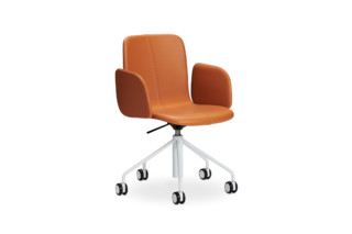 Sola conference chair with swivel base and height adjustment  by  Martela