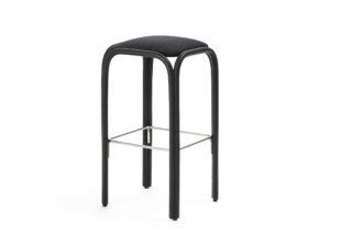 Fontal upholstered high barstool T019 U  by  Expormim