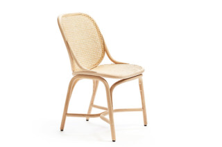Frames dining chair with rattan legs T040 R  by  Expormim