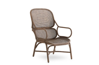 Frames armchair with rattan legs T050 R  by  Expormim