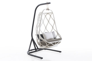 Nautica indoor swing chair with base T061  by  Expormim